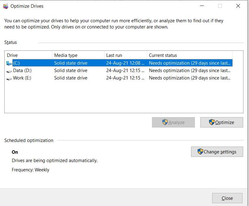 Kiểm tra máy chạy SSD hay HDD